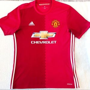 Mens MANCHESTER UNITED Jersey 2016 Embroidered L